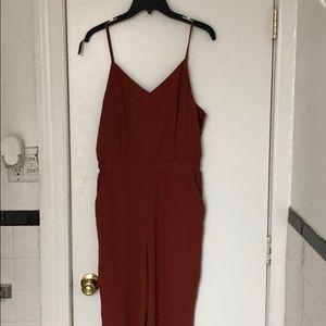 UNIQLO burnt orange jumper women's medium